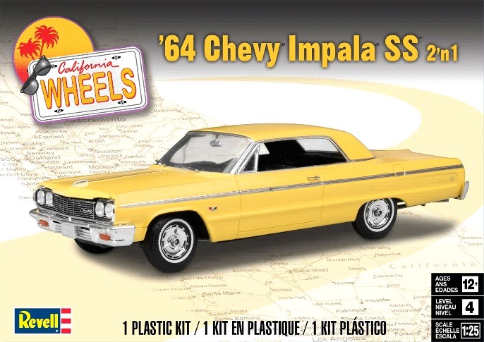 RMX4487 '64 Chevy Impala Hardtop
