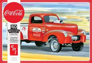 AMT1145 Coca-Cola '40 Willys Gasser Pickup (2019 Release)